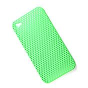 caso de malla protectora para el iPhone 4 (verde)