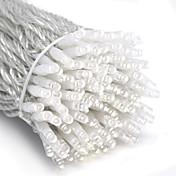 10m 6w 100-ledet hvit lysstreng feilampe for halloween festival dekorasjon (110 / 220v)