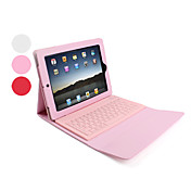 Etui Til Apple iPad 4/3/2 Fullbody Etuier Ensfarget Hard PU Leather til Apple
