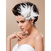 Tul Fascinators Para la Cabeza with Flor 1pc Boda Ocasión especial Celada