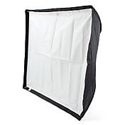 70 x 70 cm de difusor de flash Speedlight reflexivo paraguas softbox
