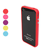 Funda Para iPhone 4/4S Apple Marco Antigolpes Suave TPU para iPhone 4s/4