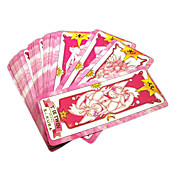 Mer Tilbehør Inspirert av Andre Cardcaptor Sakura Sakura Kinomoto Anime Cosplay-tilbehør Kort Papir Dame