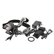 UniqueFire HD003 5-el modo Cree XM-L T6 LED Linterna recargable Set (10w, 1000lm, Battery Pack + cargador de CA)