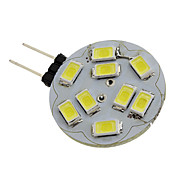 1.5W 6000 lm G4 Focos LED 9 leds SMD 5730 Blanco Natural DC 12V