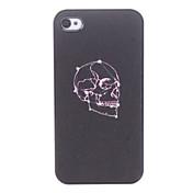 Cráneo Caso duro del patrón púrpura para el iPhone 4/4S