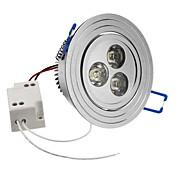 SENCART 6500lm Taklys Innfelt lampe Innfelt retropassform 3 LED perler Høyeffekts-LED Naturlig hvit 85-265V