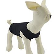 강아지 티셔츠 강아지 의류 솔리드 화이트 블랙 오렌지 그레이 옐로우 코스츔 애완 동물