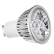4W 400 lm GU10 LED-spotpærer MR16 4 leds Kjølig hvit AC 220-240V