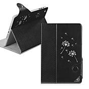 Etui Til iPad Mini 3/2/1 med stativ Autodvale / aktivasjon Magnetisk Heldekkende etui løvetann PU Leather til iPad Mini 3/2/1