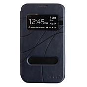Skylight Cóncavo y convexo Caso textura de cuero para Samsung Galaxy Nota 2 N7100 (colores surtidos)