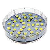 5W 280-350 lm GX53 Focos LED 36 leds SMD 5050 Blanco Fresco AC 220-240V