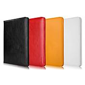 Funda Para iPad Air con Soporte Funda de Cuerpo Entero Color sólido piel genuina para iPad Air