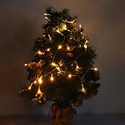 4 m 3w 40 led 210lm luz blanca cálida luz de tira llevada para decoraciones