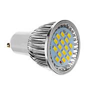 4W 350-400 lm GU10 Focos LED 16 leds SMD 5730 Blanco Fresco AC 85-265V