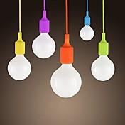 SL® colgante pequeño, 1 luz, modernas dulces de colores de silicona minimalista