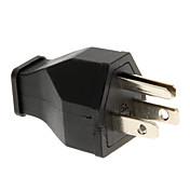 Adaptador de enchufe de alimentación EE.UU. SS-160 (Negro, AC 125 V)