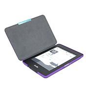 Alta calidad protectora de la PU cuero de la cubierta del estuche rígido para el Amazon Kindle Paperwhite