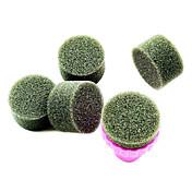 Herramientas 1PCS Manicura Sponge Nail Art Stamper con 5PCS Esponja clavo por Gradiente de color de uñas de arte