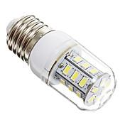 3W E14 E26/E27 LED 콘 조명 24 LED가 SMD 5730 따뜻한 화이트 차가운 화이트 270lm 6000-6500K AC 220-240V