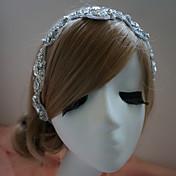 Mujer Diamantes Sintéticos Celada-Boda Ocasión especial Bandas de cabeza