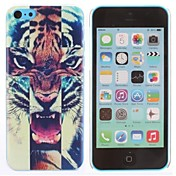 Roaring Tiger Pattern PC caso duro para el iPhone 5C