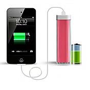 Batería externa 2200mah portátil Banco de la energía para el iphone 6.6 más / 5 / 5s / samsung s4 / s5 / Nota2