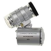 Mobiltelefon Lens Metall 10X og over Objektiv med etui S5