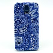 Para Funda Samsung Galaxy Diseños Funda Cubierta Trasera Funda Mandala Policarbonato Samsung S5