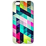 아이폰 4 / 4S를위한 다채로운 다이아몬드 퍼즐 패턴 하드 케이스