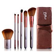 6pcs Profesjonell Makeup børster Børstesett Syntetisk hår / Geitehår børste Øye / 1 * Øyenskyggebørste / 1 * Eyelash Brush farging Pensel