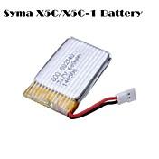 680mAh 3.7v batería Quadcopter teledirigido para X5c del syma X5c-1 x5sc x5sw cheerson cx30w cx30s