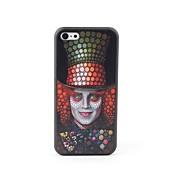 caso trasero protector estilo payaso para 5c iphone