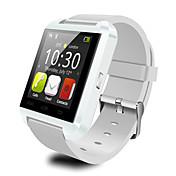 u8 bluetooth reloj inteligente v3.0 función de llamada con manos libres de los hombres