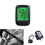 Ordenador de BicicletaImpermeable Inalámbrica Encendido / Apagado Automático Configuración de Circunferencia de la Rueda Reloj Odómetro -