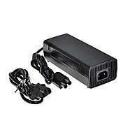 nuevo cargador adaptador de corriente alterna de 12v 135w con cable de alimentación para Xbox 360 de Microsoft delgado-negro ladrillo