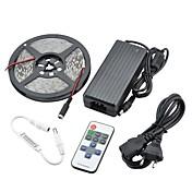 90w 7500lm 300x5630 SMD 따뜻한 흰색 빛 LED 스트립 조명 키트를 주도 (직류 12V)