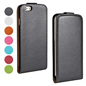 Solid Color PU Leather Full Body Cover for iPhone 6 Plus (Assorted Color)