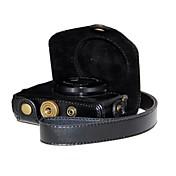 dengpin® caja de la cámara de grano litchi retro de cuero de la PU con la correa de hombro para Canon Powershot G7 X G7x