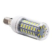 5W E14 Bombillas LED de Mazorca T 56 leds SMD 5730 Blanco Natural 450lm 6000-6500K AC 100-240V