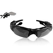 bluetooth glass stil trådløs sport stereo bluetooth hodesett hodetelefon for iphone og andre