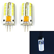 G4 Luces LED de Doble Pin 63 leds SMD 3014 250lm Blanco Fresco 6000~6500