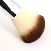 1pcs Pinceles de maquillaje Profesional Cepillo para Polvos Pelo Sintético Pincel Grande