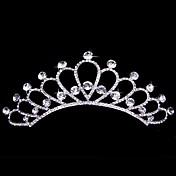 여성 플라워 걸 합금 투구-웨딩 왕관