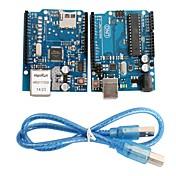 uno r3 bord modul + ethernet shield W5100 modul for Arduino