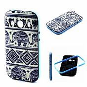 용 삼성 갤럭시 케이스 충격방지 / 패턴 케이스 뒷면 커버 케이스 코끼리 TPU Samsung Ace Style LTE