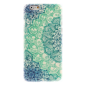 Para Funda iPhone 6 / Funda iPhone 6 Plus Diseños Funda Cubierta Trasera Funda Mandala Dura PolicarbonatoiPhone 6s Plus/6 Plus / iPhone