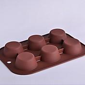 Herramientas para hornear Silicona Ecológica / Antiadherente Pastel / Galleta / Chocolate Molde para hornear