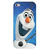 caso trasero duro del patrón de muñeco de nieve para el iphone 6
