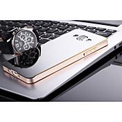 Teléfono Móvil Samsung - Cobertor Posterior - Diseño Especial - para Samsung Galaxia A5 ( Negro/Dorado/Plateado , Plástico/Metal )